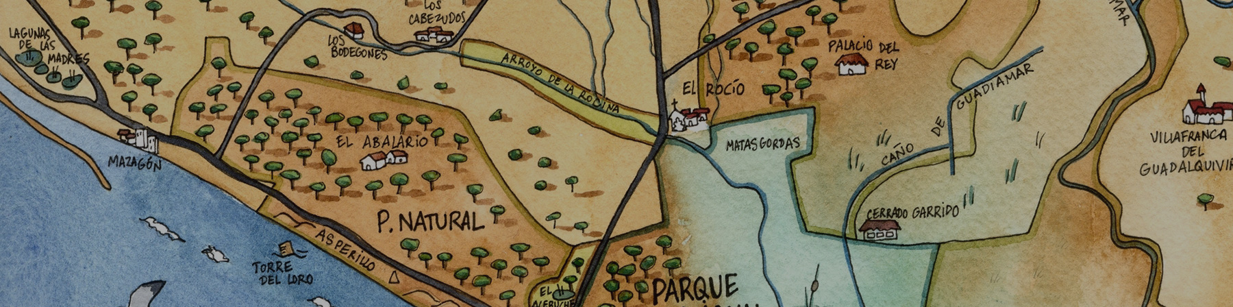 How to find us - Doñana Reservas