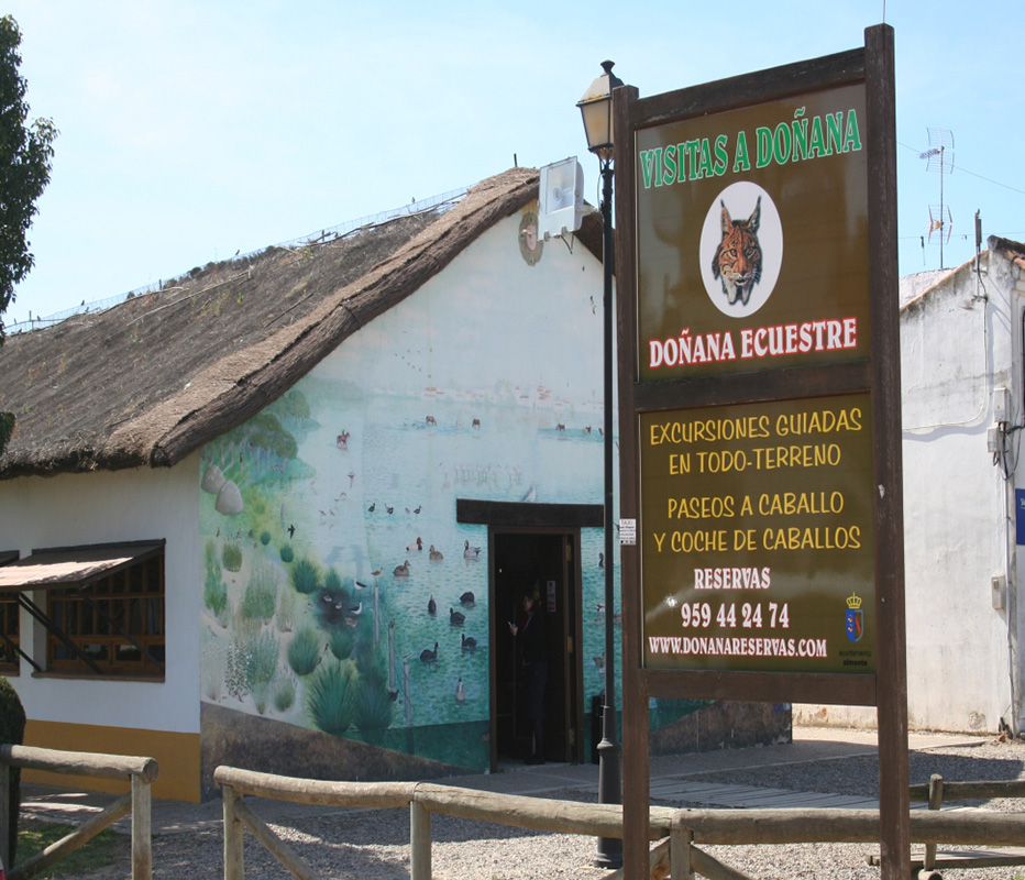 instalaciones de Doñana Reserva